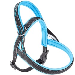 Ferplast шлейка SPORT DOG с мягкой подкладкой, цвет синий