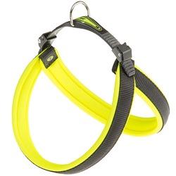 Ferplast шлейка AGILA FLUO с мягкой подкладкой, цвет желтый