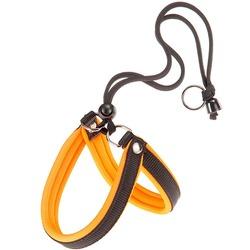 Ferplast шлейка AGILA FLUO с мягкой подкладкой, цвет оранжевый