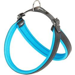 Ferplast шлейка AGILA FLUO с мягкой подкладкой, цвет синий