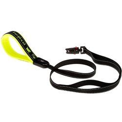 Ferplast поводок SPORT DOG MATIC с автоматическим карабином и мягкой ручкой, цвет желтый, 1,2 м х 2 см