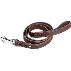 "Gripalle поводок для собак ""Бэст"", натуральная кожа, цвет коричневый"