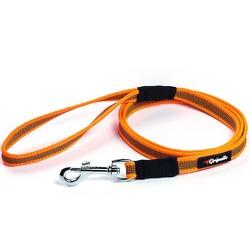 Gripalle прорезиненный нейлоновый поводок, цвет оранжевый