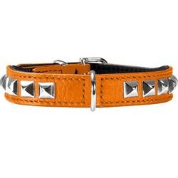 Hunter ошейник Rocky Petit оранжевый, 23-27 см, шир. 1,6 см