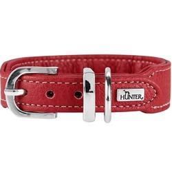 Hunter ошейник Cannes Mini, красный, 29-35 см, ширина 2,5 см