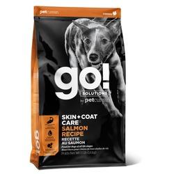 Go! Solutions сухой корм со свежим лососем и овсянкой для щенков и взрослых собак (Sensitivity + Shine Salmon Dog Recipe 22/12)