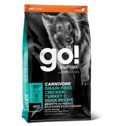 GO! NATURAL Holistic Беззерновой 4 вида мяса для взрослых собак: Индейка, Курица, Лосось, Утка (Fit + Free Grain Free Adult Dog Recipe 34/16)