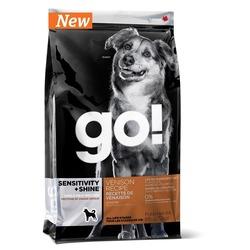 GO! NATURAL Holistic Беззерновой для щенков и собак со свежей олениной для чувствительного пищеварения, SENSITIVITY + SHINE Venison Recipe DF