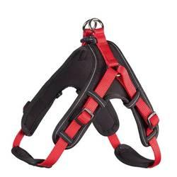 Hunter шлейка с мягкой подкладкой Neopren Vario Quick, цвет красный с черным