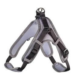 Hunter шлейка с мягкой подкладкой Neopren Vario Quick, цвет черный с серым