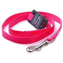 Papillon поводок нейлоновый для собак, цвет розовый
