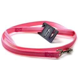 Papillon светоотражающий поводок для собак, цвет розовый