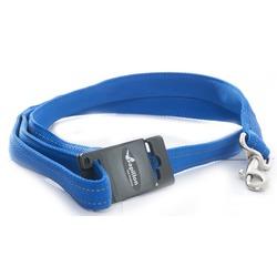 Papillon светоотражающий поводок для собак, цвет синий