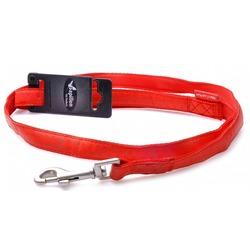 Papillon поводок для собак Mac Leather, цвет красный