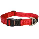 Rogz ошейник для собак Alpinist, цвет красный