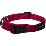 Rogz ошейник для собак Alpinist, цвет розовый