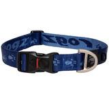 Rogz ошейник для собак Alpinist, цвет темно-синий