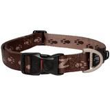 Rogz ошейник для собак Alpinist, цвет шоколадный