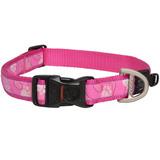 Rogz ошейник для собак Fancy dress, цвет розовый