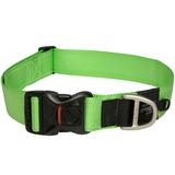 Rogz ошейник для собак Utility, цвет зеленый