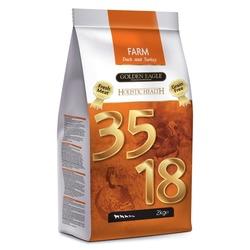 Golden Eagle Farm 35/18 беззерновой корм для собак свежая утка и индейка, 2 кг