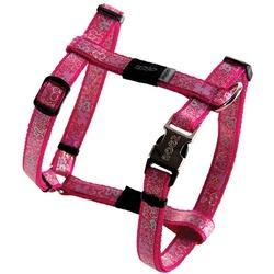 Rogz шлейка для собак мелких и средних пород Trendy, цвет розовый