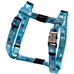 Rogz шлейка для собак мелких и средних пород Trendy, цвет голубой