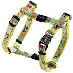 Rogz шлейка для собак мелких и средних пород Trendy, разноцветная