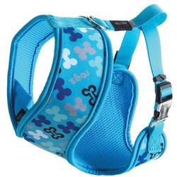 Rogz шлейка с мягкой подкладкой для собак мелких пород Trendy, цвет голубой