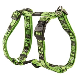 Rogz шлейка для собак Fancy Dress, цвет зеленый