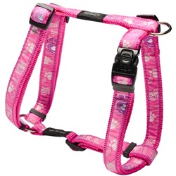 Rogz шлейка для собак Fancy Dress, цвет розовый