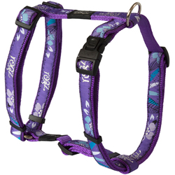 Rogz шлейка для собак Fancy Dress, цвет фиолетовый