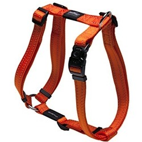 Rogz шлейка для собак Utility, цвет оранжевый