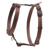 Rogz шлейка для собак Utility, цвет коричневый