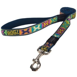 Rogz поводок для собак Fancy Dress, цвет поп-арт