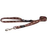 Rogz поводок для собак Alpinist, цвет шоколадный