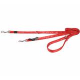 Rogz поводок-перестежка для собак Alpinist, цвет красный