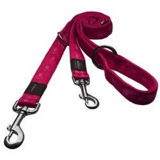 Rogz поводок-перестежка для собак Alpinist, цвет розовый