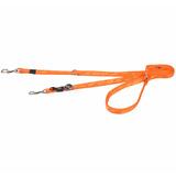 Rogz поводок-перестежка для собак Alpinist, цвет оранжевый
