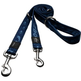 Rogz поводок-перестежка для собак Alpinist, цвет темно-синий
