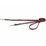 Rogz поводок-перестежка для собак Alpinist, цвет коричневый