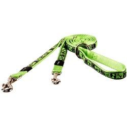 Rogz поводок-перестежка для собак Fancy Dress, цвет лайм