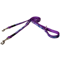 Rogz поводок-перестежка для собак Fancy Dress, цвет фиолетовый