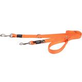 Rogz поводок-перестежка для собак Utility, цвет оранжевый