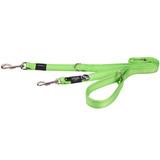 Rogz поводок-перестежка для собак Utility, цвет зеленый