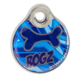 Rogz адресник пластиковый Instant ID Tagz, цвет морской
