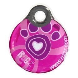 Rogz адресник пластиковый Instant ID Tagz, цвет розовый