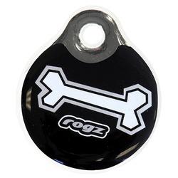 Rogz адресник пластиковый Instant ID Tagz, цвет черный