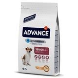 Advance Mini Adult для взрослых собак малых пород с курицей и рисом