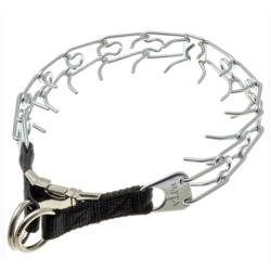 V.I.Pet Ошейник строгий усиленный, металлический фастекс, 2 кольца для дополнительной защиты, арт.5590